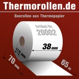 Thermorollen 38 65m 17,5