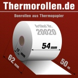 Thermorollen 54 50m 12