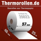Thermorollen 57 25m 12