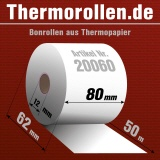 Thermorollen 80 50m 12