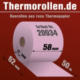 Rosa Thermorollen 58 50m 12